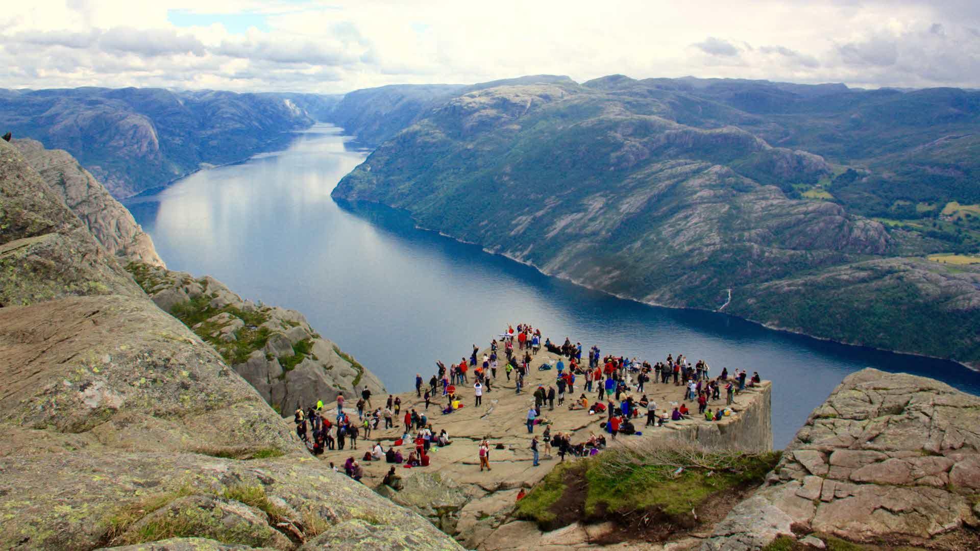 Fjord Cruise Lysefjorden