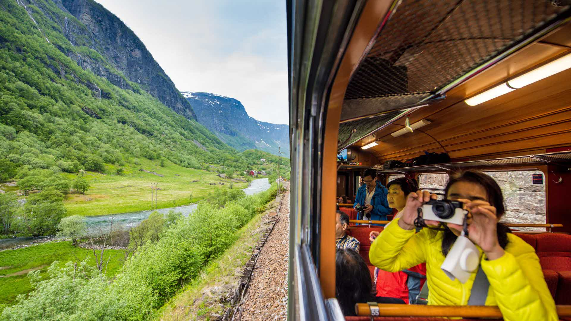 Summer on the Flam Railway