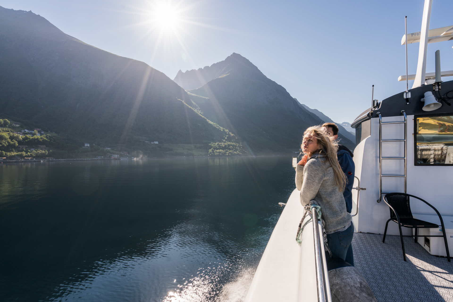 Cruising the Hjørundfjorden